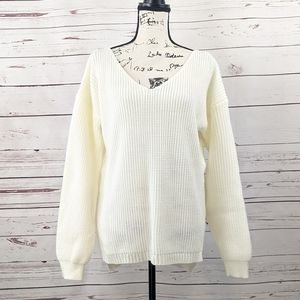 Boohoo Ribbed Oversized Sweater